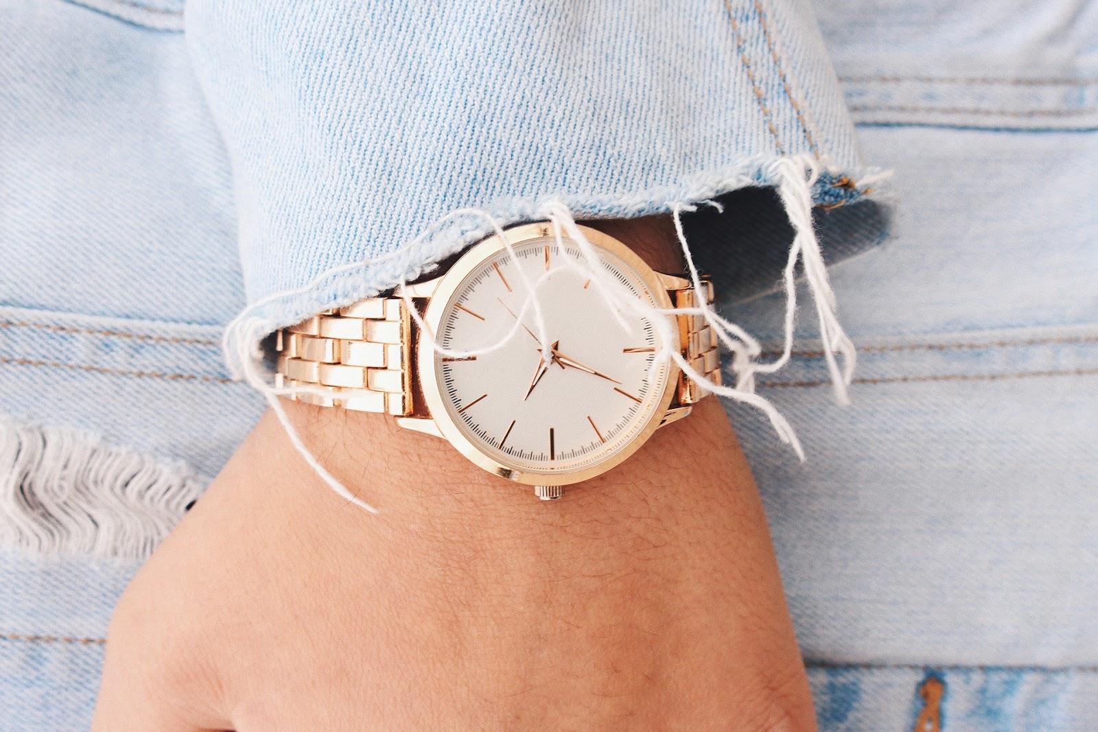 como vender relógio de ouro